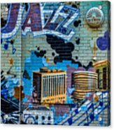 Kansas City Jazz Mural Acrylic Print