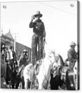 Kansas: Cowboy, C1908 Acrylic Print