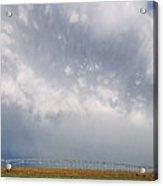 Kansas Double Rainbow Acrylic Print