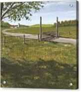 Kansas Farm Acrylic Print