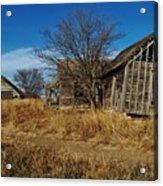 Kansas Farmhouse And Barn Acrylic Print