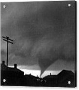 Kansas: Tornado, C1902 Acrylic Print