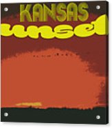 Kansas Travel Image Nine Acrylic Print