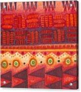 Kapa Pattern 4 Acrylic Print