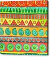 Kapa Patterns 10 Acrylic Print