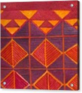 Kapa Patterns 6 Acrylic Print