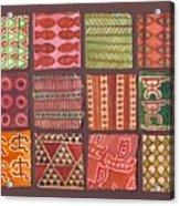 Kapa Squares 2 Acrylic Print
