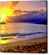 Kapalua Bay Sunset Acrylic Print
