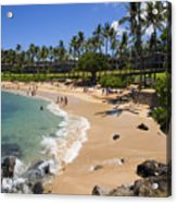 Kapalua Beach Resort Acrylic Print