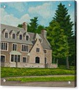 Kappa Delta Rho North View Acrylic Print