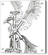 Kappa Eagle Acrylic Print