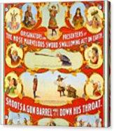Kar-mi And The Great Victorina Troupe Originators Acrylic Print