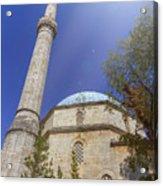 Karadoz Bey Mosque, Mostar, Bosnia And Herzegovina Acrylic Print