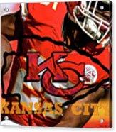 Kareem Hunt, Kansas City Chiefs Acrylic Print