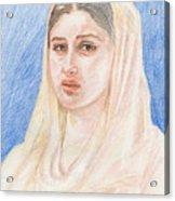 Kareena Acrylic Print