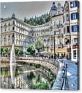 Karlovy Vary Chehia Acrylic Print