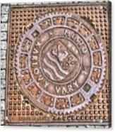 Karlovy Vary Element Acrylic Print