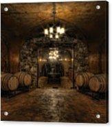 Karma Winery Cave Acrylic Print