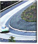 Karussell Porsche Acrylic Print