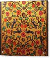 Kashmir's Kashida Acrylic Print