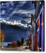 Kaslo At Kootenai Lake Acrylic Print