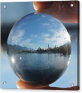 Kaslo Through The Looking Glass Acrylic Print