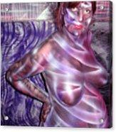 Kat n Art II Acrylic Print