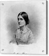 Kate Fox (1837-1892) Acrylic Print