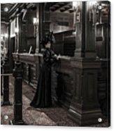 Kate Morgan Checking In At The Hotel Del Coronado Acrylic Print