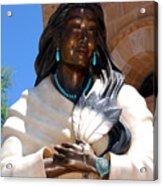 Kateri Tekakwitha Santa Fe Acrylic Print