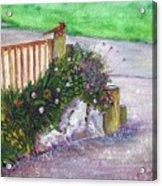 Kates Garden Acrylic Print