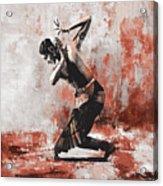 Kathak Dancer  Acrylic Print
