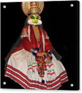 Kathakali Dancer Acrylic Print