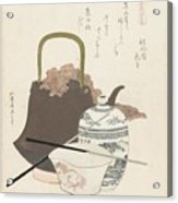 Katsushika Hokusai Acrylic Print