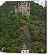 Katz Castle And Village Acrylic Print