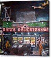 Katz Deli Acrylic Print