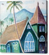 Kauai Church Acrylic Print