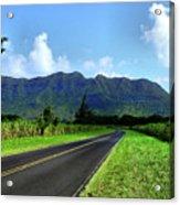 Kauai Countryside Acrylic Print