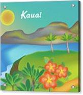 Kauai Hawaii Horizontal Scene Acrylic Print