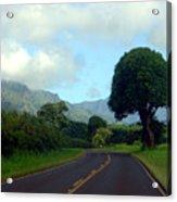 Kauai Road Acrylic Print
