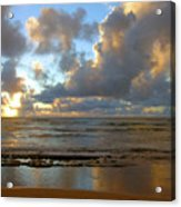 Kauai Sunrise Reflections Acrylic Print