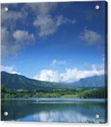 Kauaihai Ridge Acrylic Print