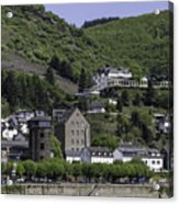 Kaub Ship Mast Acrylic Print