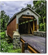 Kaufman Covered Bridge - Pa Acrylic Print