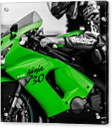 Kawasaki Ninja Zx-6r Acrylic Print
