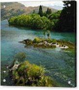 Kawerau River Acrylic Print