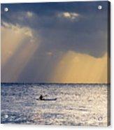 Kayak At Dawn Acrylic Print