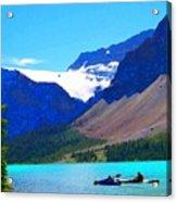 Kayak Heaven Acrylic Print