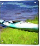 Kayak In Upstate Ny Acrylic Print