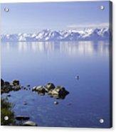 Kayak On Lake Tahoe Acrylic Print